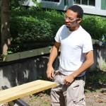 GJC-Jon building a pig ramp