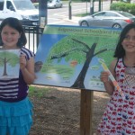 Edgewood SYH sign and student artists