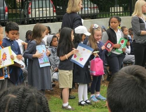 New Haven Independent & New Haven Register: Schoolyard habitats unveiled!