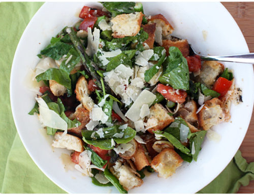 Seasonal Recipe: Grilled Asparagus & Hakurei Turnip Panzanella