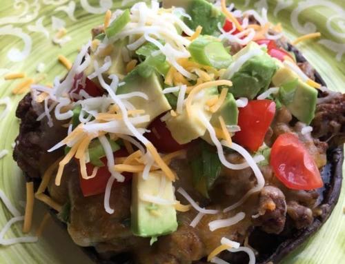CG Staff Recipe: Elena's Taco Stuffed Portobellos